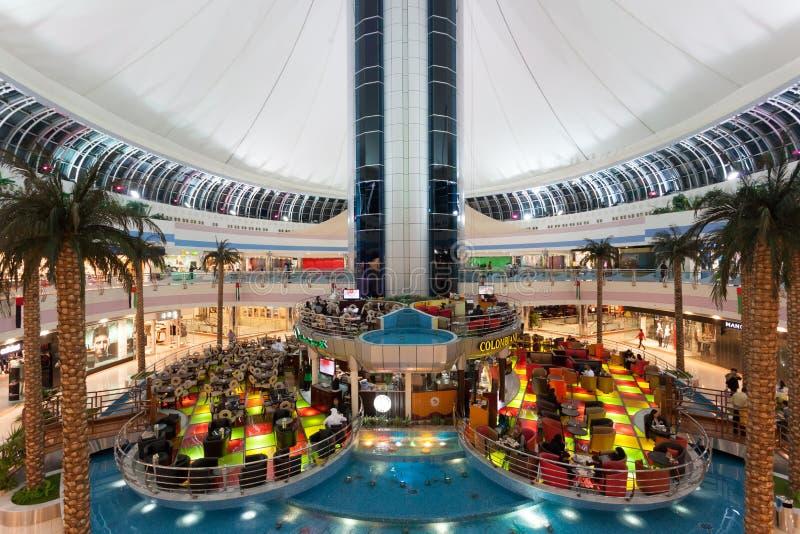 Marina Mall in Abu Dhabi. Interior of the Marina Mall in Abu Dhabi. December 21, 2014 in Abu Dhabi, United Arab Emirates