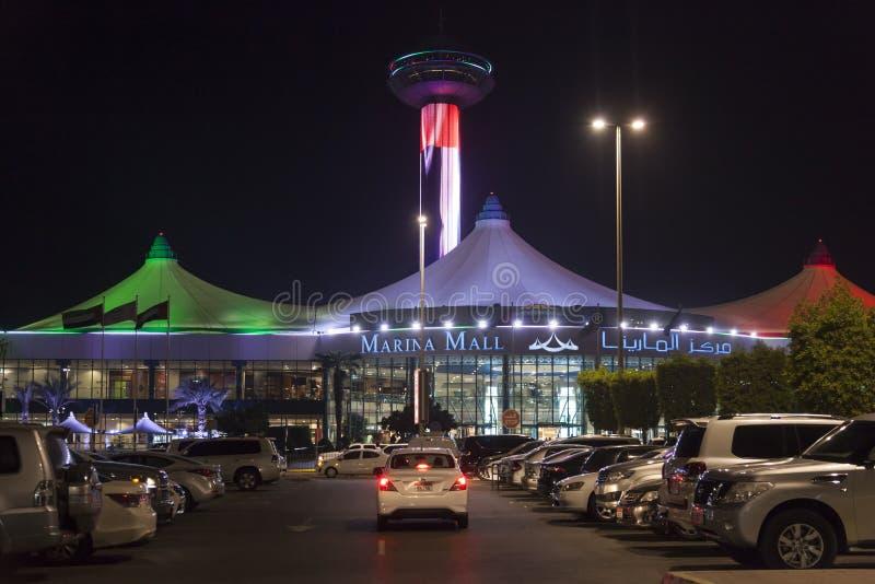 Marina Mall in Abu Dhabi, UAE fotografia stock