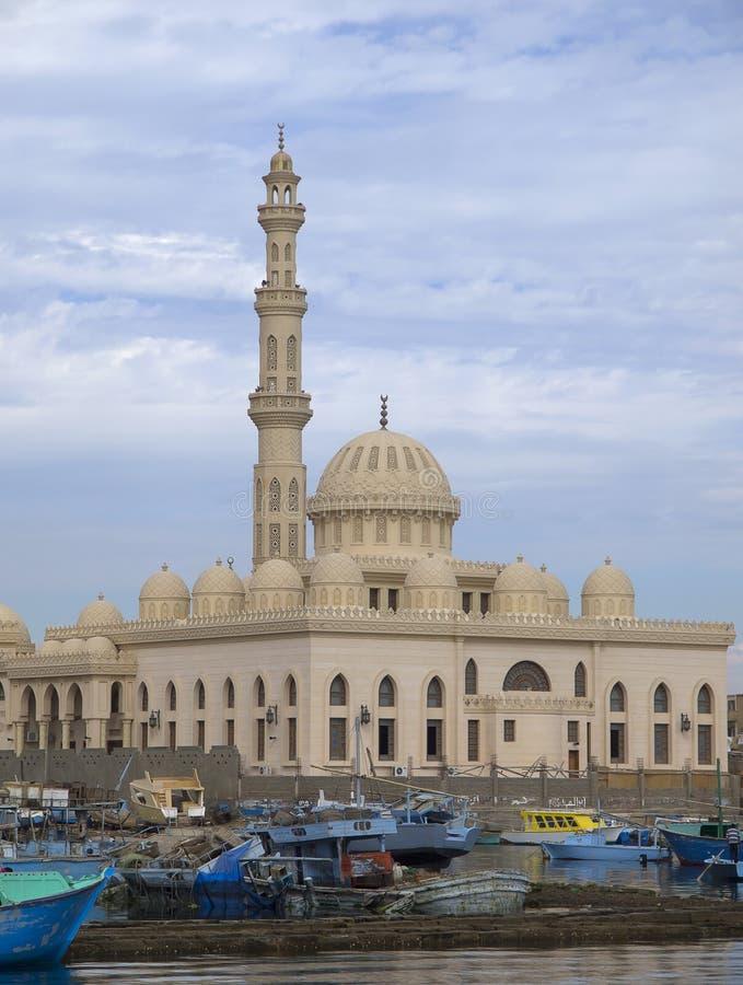 Marina meczet w Hughada zdjęcia royalty free