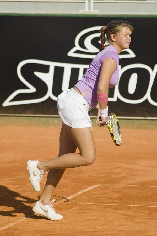 Marina Melnikova In Oporto Open Editorial Stock Photo