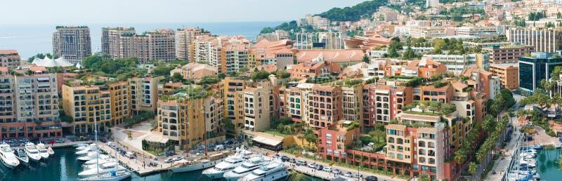 The marina in Monaco royalty free stock photography