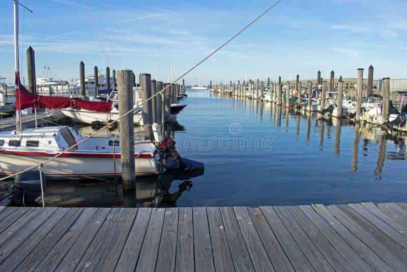 Marina no Porto Municipal de Atlantic Highlands -05 fotos de stock royalty free
