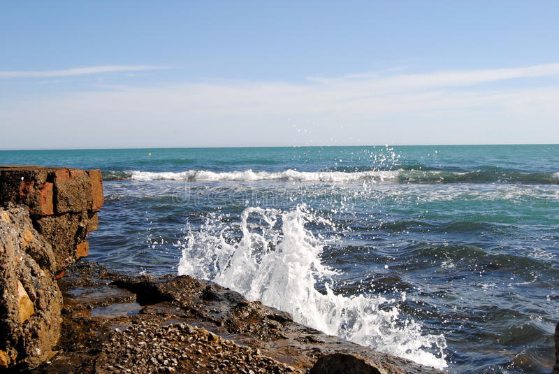 marina Olasy rocas royalty-vrije stock foto's