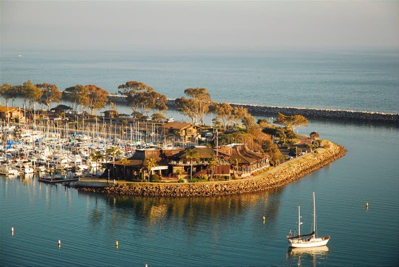 Marina på Dana Point arkivbilder