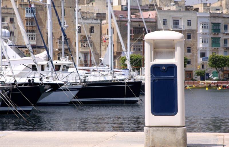 Marina pontoon royalty free stock photography
