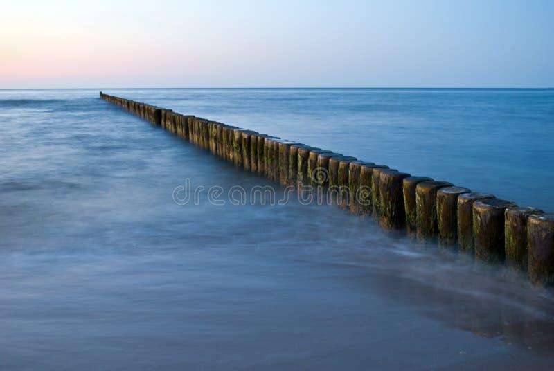 Marina Posts In Baltic Sea Free Public Domain Cc0 Image