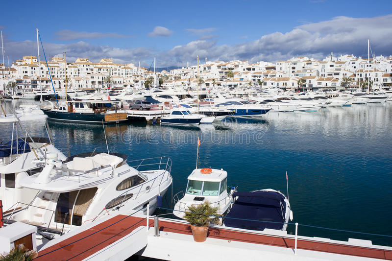 Download Marina in Puerto Banus stock image. Image of relax, leisure - 24991839