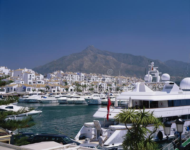 PUERTO BANUS,SPAIN royalty free stock photo