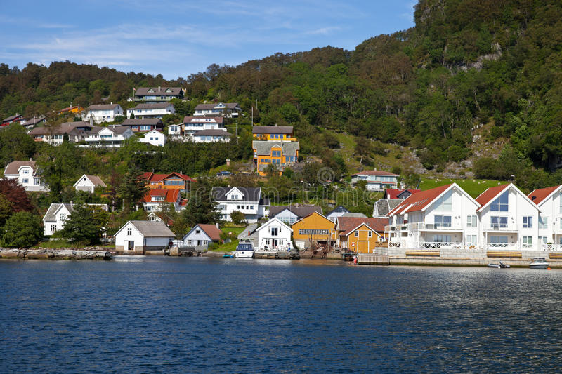 Download Marina in Rennesoy stock photo. Image of fjord, nautical - 20460318