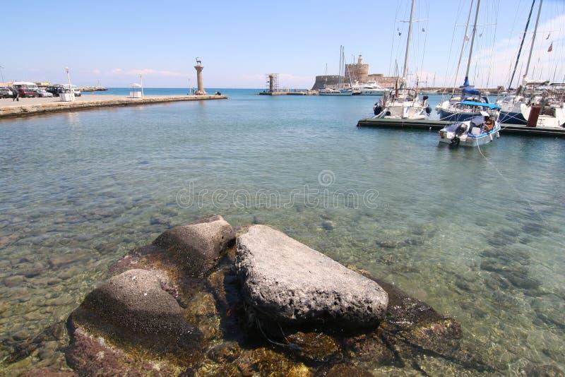marina Rhodes image libre de droits