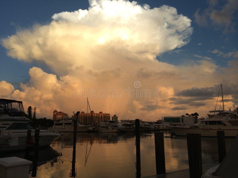 Marina Sarasota Florida. Sarasota Florida Marina Jacks area royalty free stock photos