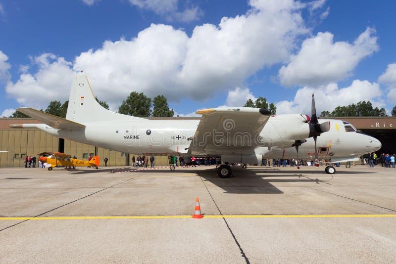 Marina tedesca P-3 Orione immagini stock libere da diritti