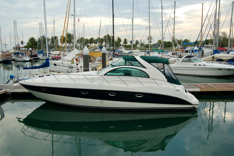 marina telaga portu zdjęcie royalty free