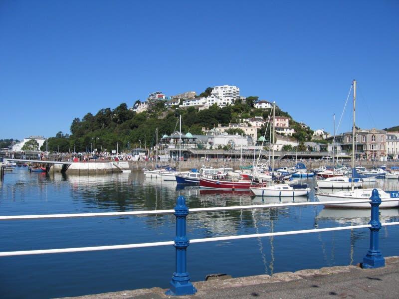 marina Torquay zdjęcie stock