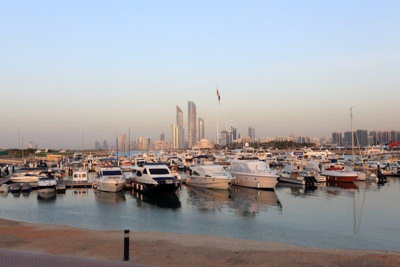 Marina w Abu Dhabi obrazy stock