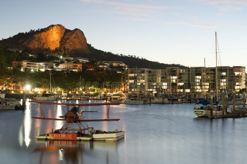 Marina w Townsville, Queensland, Australia obrazy royalty free