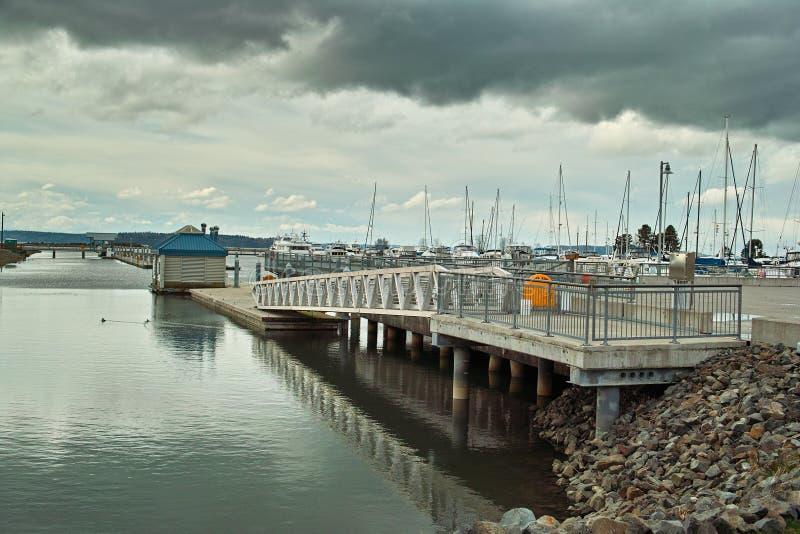 Marina walkway and dock