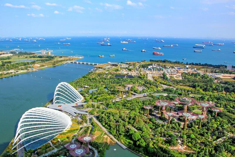 Marinabay-Garten von Singapur stockbild