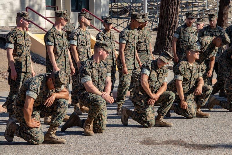 Marinai degli Stati Uniti a facilità fotografia stock