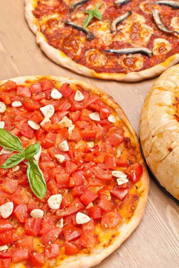 Marinara do alla da pizza imagem de stock