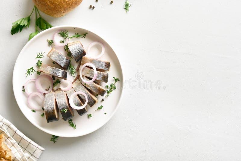 Marinated сельди с spic стоковое фото rf