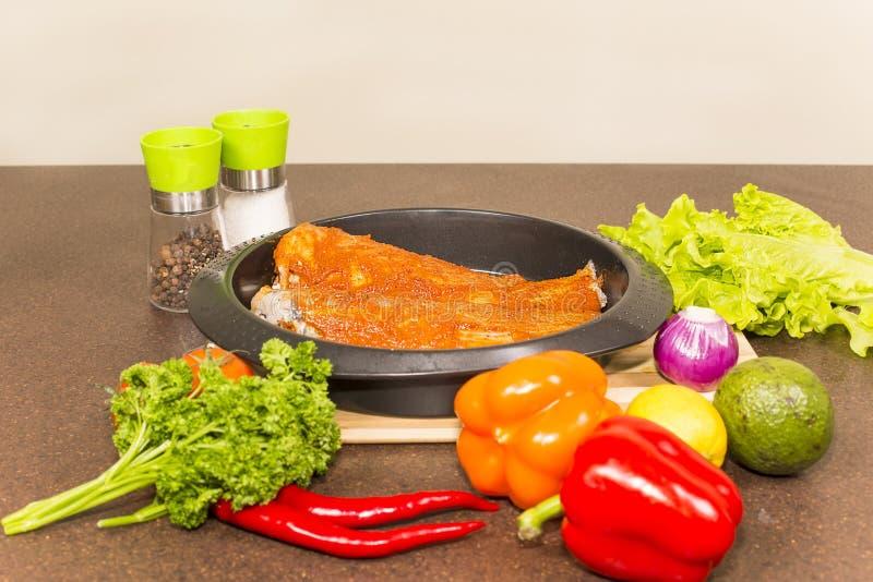 Marinated brotola рыб стоковое фото