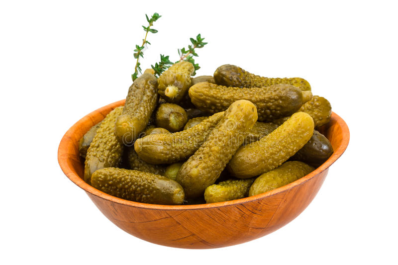 Download Marinated cucumbers stock image. Image of meal, bowl - 39502571