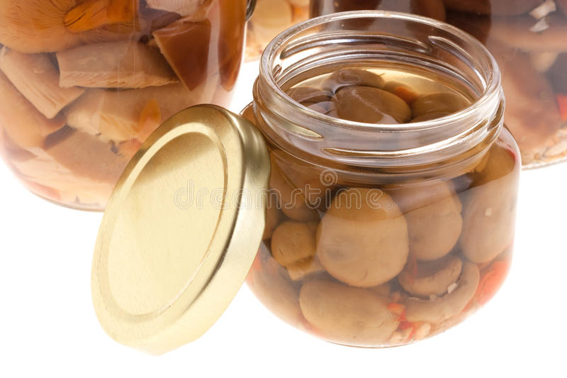 Download Marinated mushrooms stock image. Image of culture, mixed - 14032893