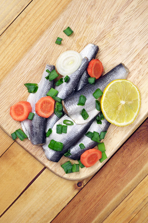 Download Marinated salted fish stock image. Image of lunch, lemon - 39502273