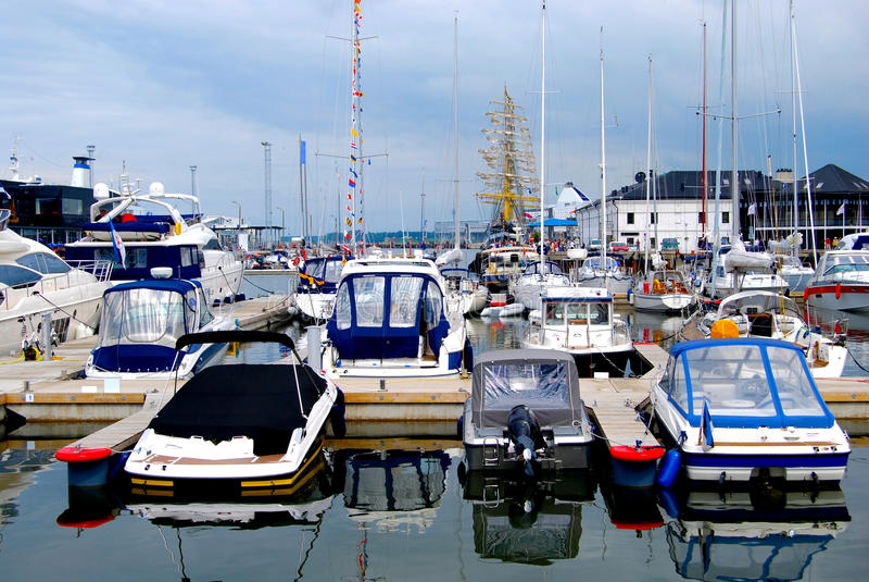 Download Marine stock image. Image of mast, sail, harbor, boats - 23517365