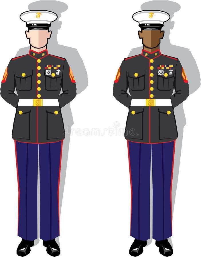 marine royalty-vrije illustratie