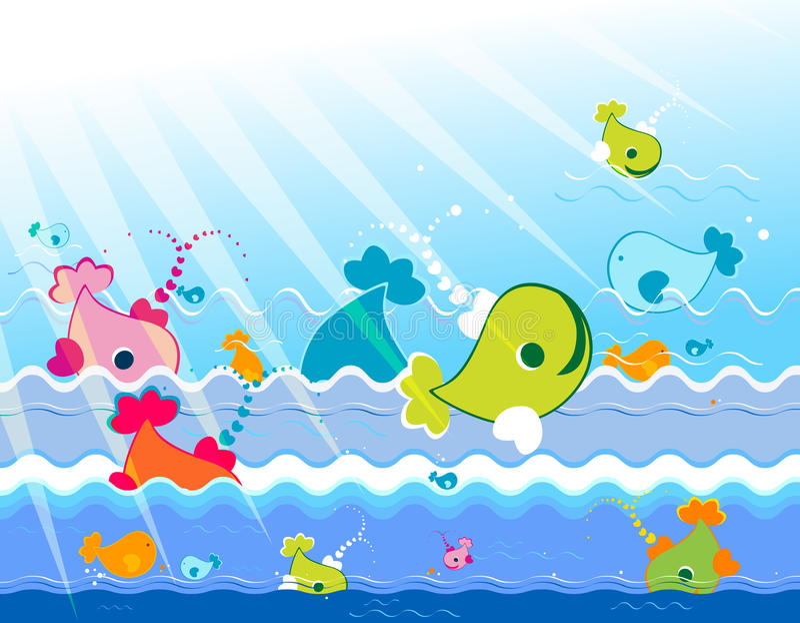 Download Marine animals stock vector. Illustration of marine, animal - 10974501