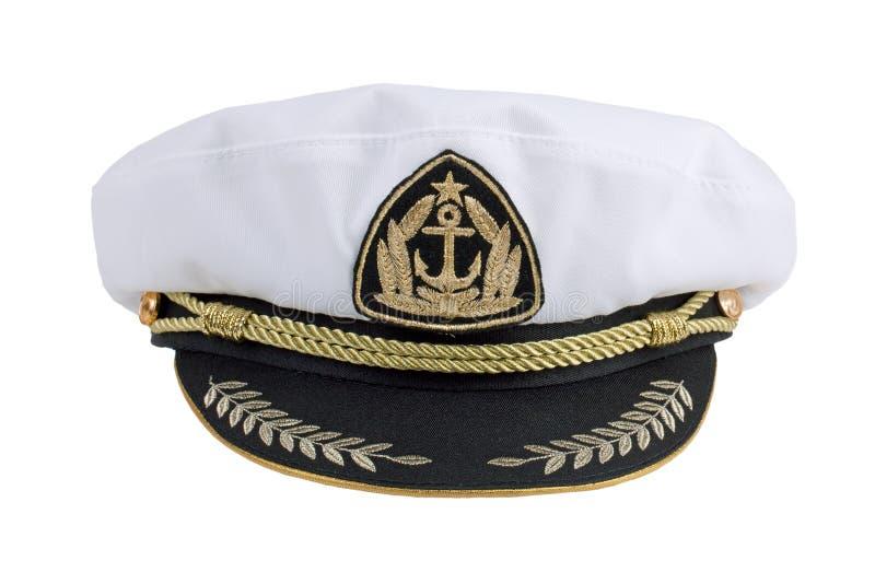 Download Marine cap stock image. Image of seafarer, peaked, officer - 26093511