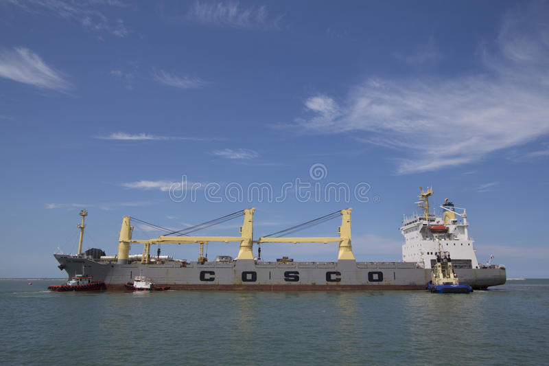 Marine cargo. Sea freight is an important component part of. International trading system, past, present and future because it is just one type of the cargo stock photos