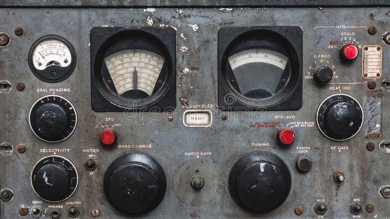 Marine Control Panel Function Buttons images stock
