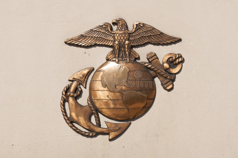 Marine Corps Insignia. An image of the Marine Corps Insignia royalty free stock image