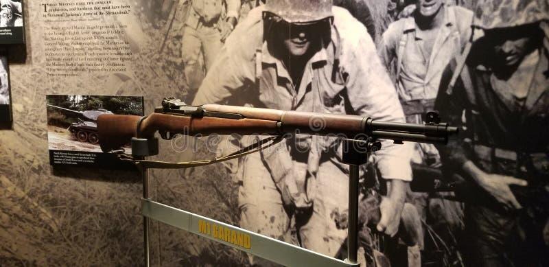 Marine Corps M1 Garand imágenes de archivo libres de regalías