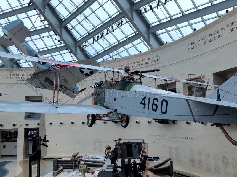 Marine Corps Museum nationale images libres de droits
