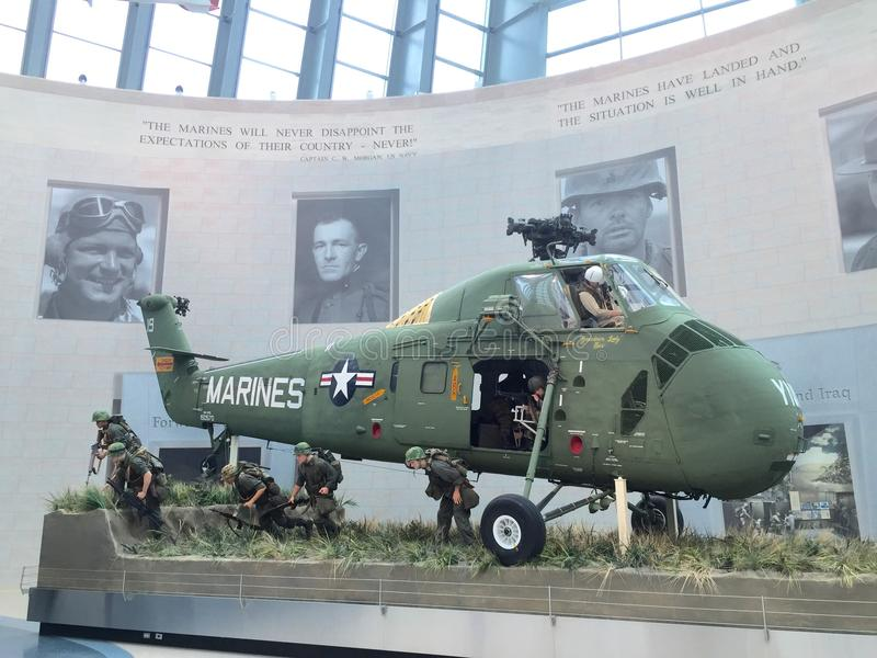 Marine Corps Museum nationale photographie stock