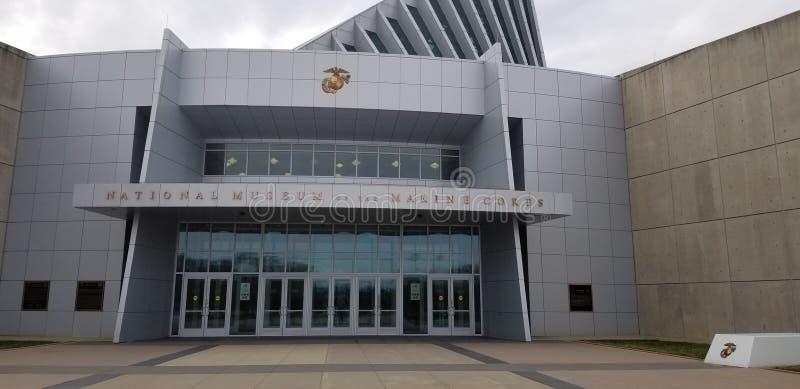 Marine Corps Museum imágenes de archivo libres de regalías