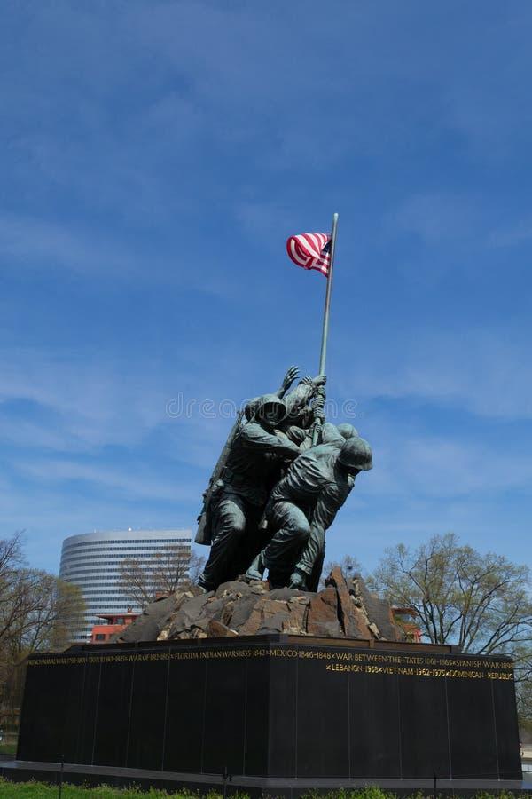 Marine Corps War Memorial en Washington fotos de archivo libres de regalías