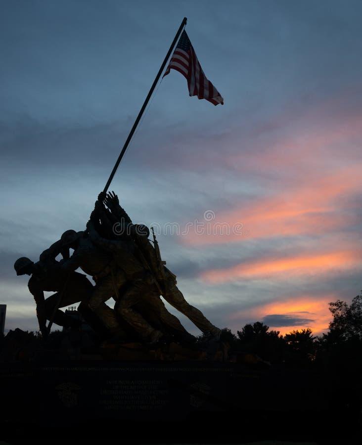 Marine Corps War Memorial - Iwo Jima stock photo