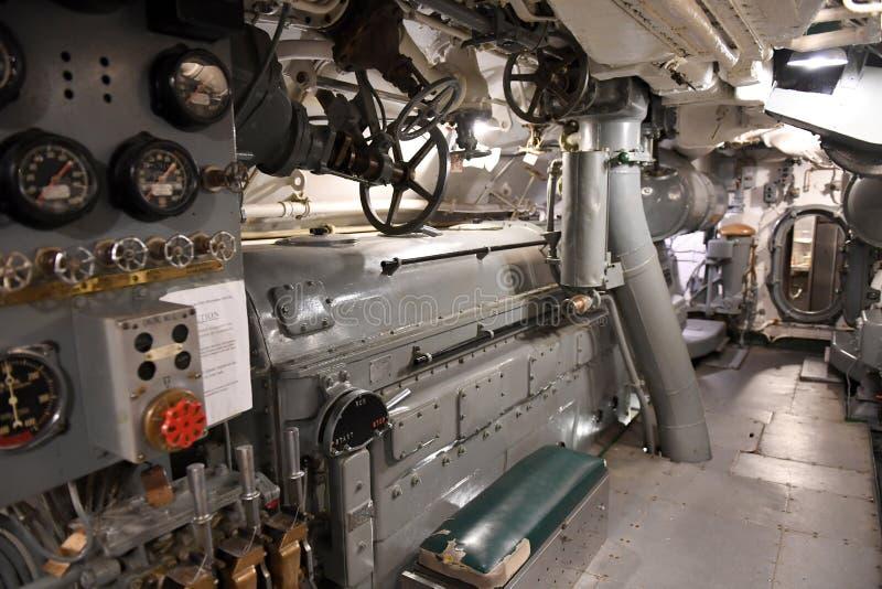 Marine d'Etats-Unis USS submersible Silvesides image stock