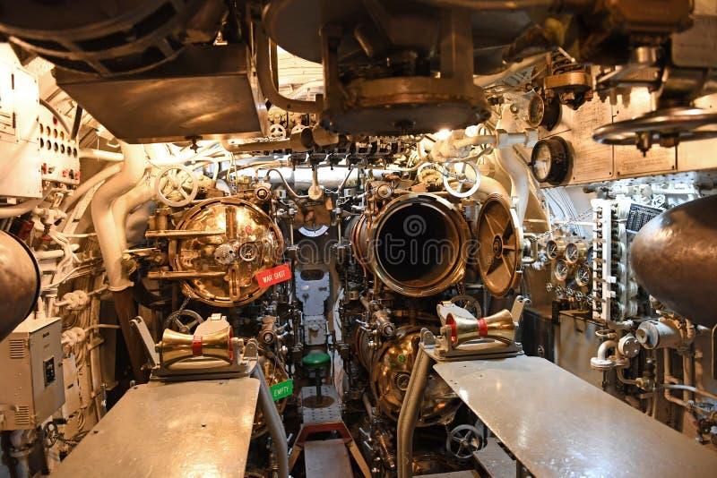 Marine d'Etats-Unis USS submersible Silvesides images stock