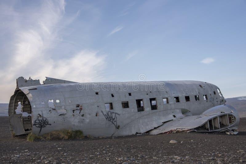 Marine de DC-3 USA, Islande 3 images stock