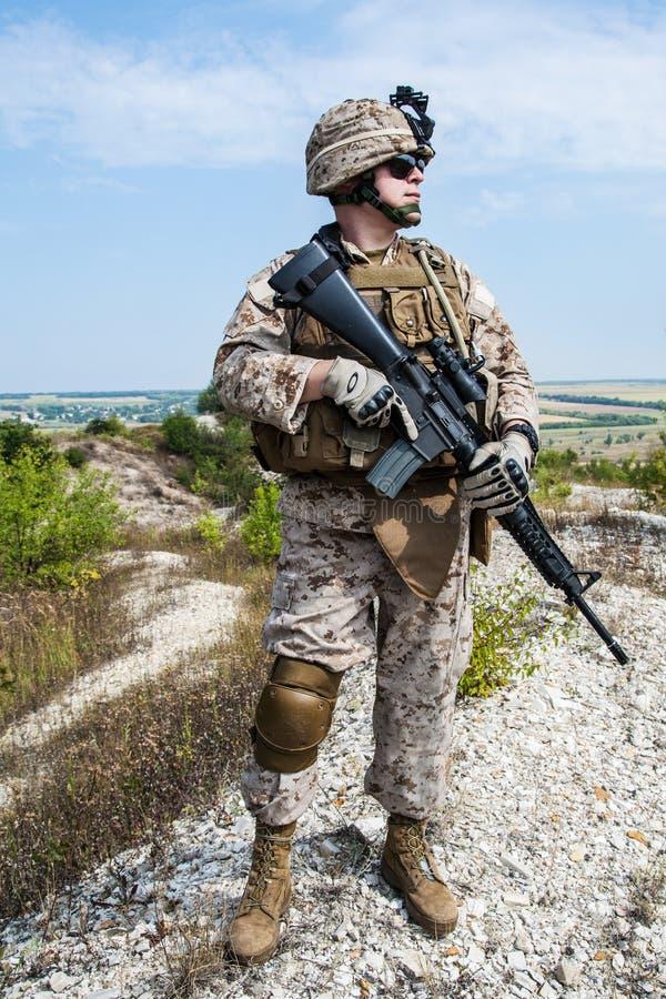 Marine des USA images libres de droits