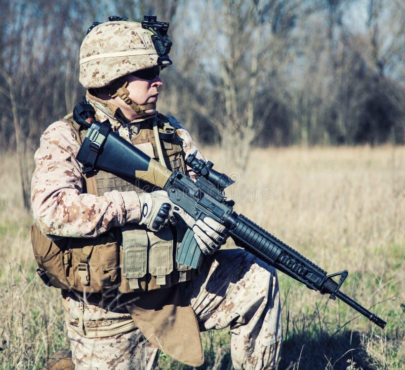 Marine des USA photographie stock