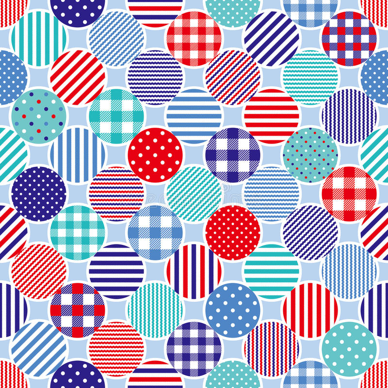 Marine dots background