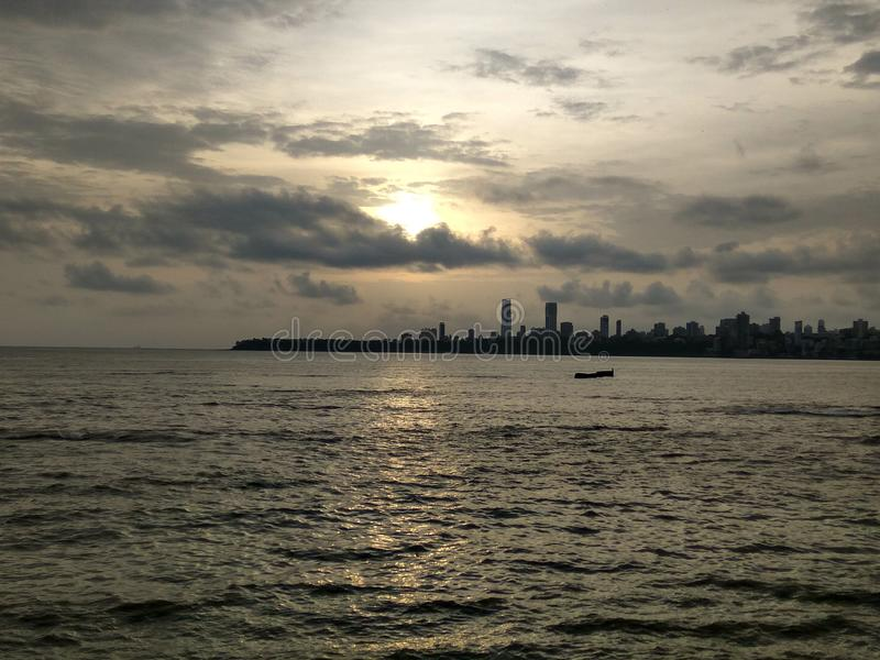Marine Drive Mumbai stock foto