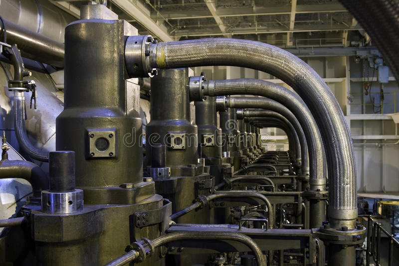 Download Marine engine stock image. Image of auto, industrial - 26964059